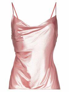 Galvan Mars cowl neck camisole - PINK