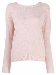 L'Autre Chose knitted sweatshirt - PINK