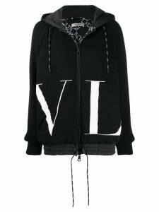 Valentino VLTN printed hoodie - Black