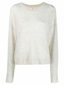 Isabel Marant Étoile dropped shoulder jumper - Grey