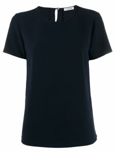 P.A.R.O.S.H. short-sleeve round-neck blouse - Blue