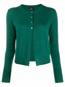 PS Paul Smith round neck cardigan - Green