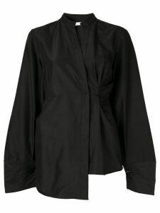 Rachel Gilbert Jorja asymmetric hem shirt - Black