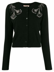 Twin-Set sequin beaded cardigan - Black