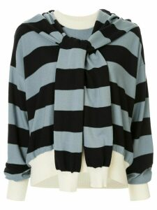 Sonia Rykiel striped long-sleeve sweater - Blue