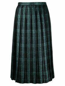Marco De Vincenzo pleated skirt - Blue