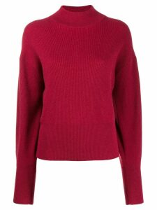 Brunello Cucinelli dropped shoulder jumper - Red