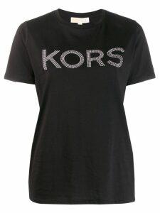 Michael Michael Kors crew neck logo T-shirt - Black