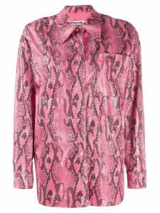 MSGM casual shirt - PINK