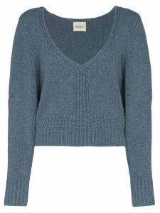 Khaite Charlette cashmere jumper - Blue