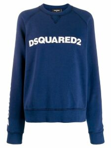Dsquared2 logo pullover - Blue