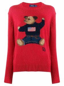 Polo Ralph Lauren teddybear knitted jumper - Red