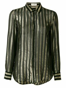 Saint Laurent striped shirt - Black