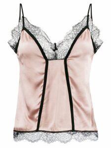 Pinko two tone camisole - NEUTRALS