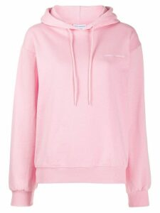 Chiara Ferragni logomania hoodie - PINK