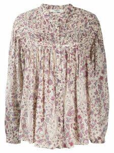 Isabel Marant Étoile floral print blouse - NEUTRALS