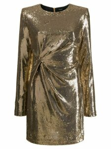P.A.R.O.S.H. sequinned party dress - GOLD