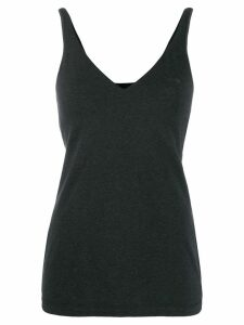 Brunello Cucinelli V-neck tank top - Grey
