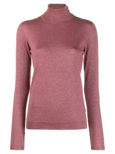 Brunello Cucinelli roll neck jumper - PINK