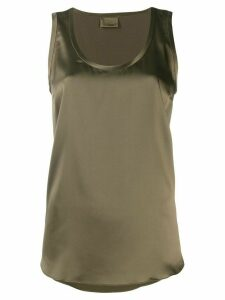 Brunello Cucinelli sleeveless shift top - Green