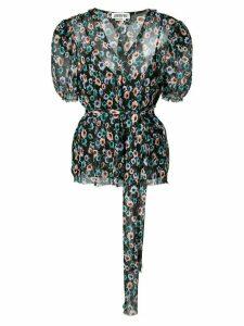 Jason Wu floral print blouse - Black