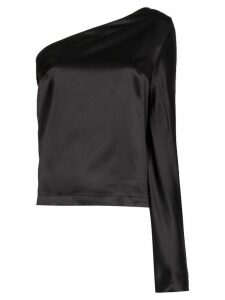 Taller Marmo Formentera one-shoulder blouse - Black