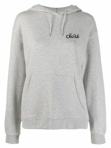 Être Cécile Love Bird sweatshirt - Grey
