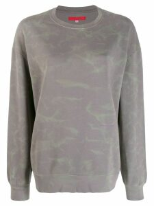 Eckhaus Latta oversized sweatshirt - Grey