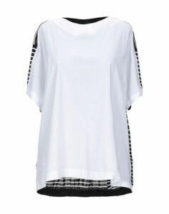 BLUE LES COPAINS SHIRTS Blouses Women on YOOX.COM