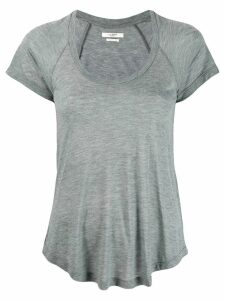 Isabel Marant Étoile scoop neck T-shirt - Grey
