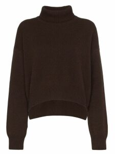 Rejina Pyo turtleneck cashmere jumper - Brown