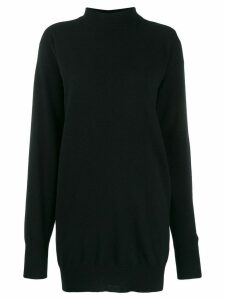 Circus Hotel cut out jumper - Black