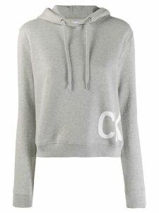 Calvin Klein Jeans logo hoodie - Grey