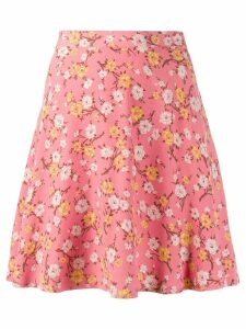 Polo Ralph Lauren floral print mini skirt - PINK