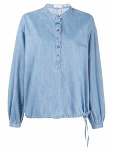 Closed oversized denim shirt - Blue