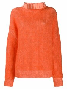 Dorothee Schumacher roll neck jumper - Orange