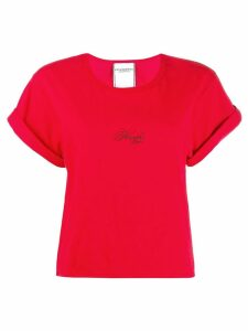 Philosophy Di Lorenzo Serafini contrast logo T-shirt - Red