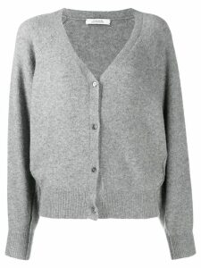 Dorothee Schumacher soft touch cardigan - Grey
