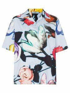 Prada floral print shirt - CELESTE