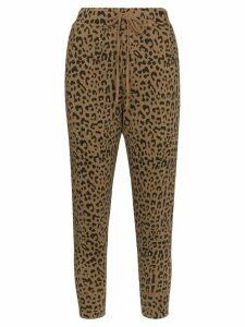Nili Lotan leopard-print cropped trousers - Multicolour