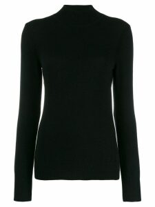 Alberta Ferretti roll neck jumper - Black