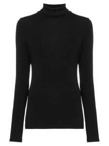 GOLDSIGN ribbed turtleneck jumper - Black