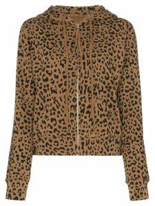 Nili Lotan Callie leopard-print hoodie - Brown