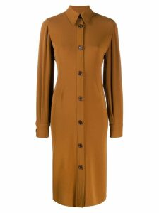Aspesi midi shirt dress - Brown