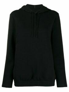 Woolrich printed logo hoodie - Black