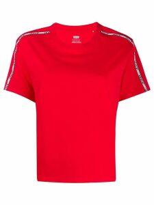 Levi's logo stripe T-shirt - Red