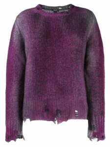 Avant Toi distressed jumper - Purple