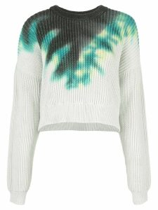 A.L.C. Elinor tie-dye sweater - Green