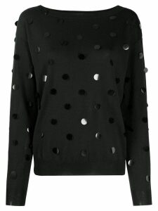 P.A.R.O.S.H. embellished jumper - Black