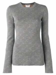 Stella McCartney monogram sweater - Grey
